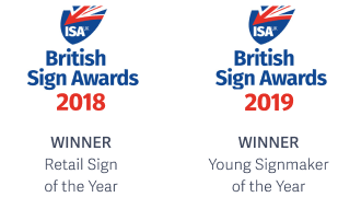 British Signe Awards 2018 and 2019
